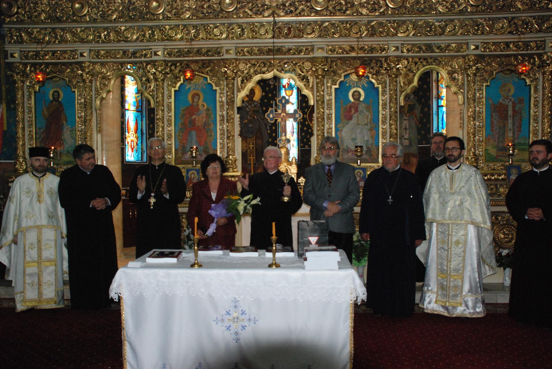 Lansare de carte la Biserica Albastră