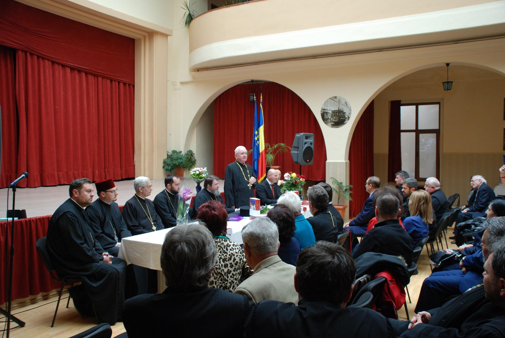 S-a lansat monografia părintelui Gheorghe Nemeș