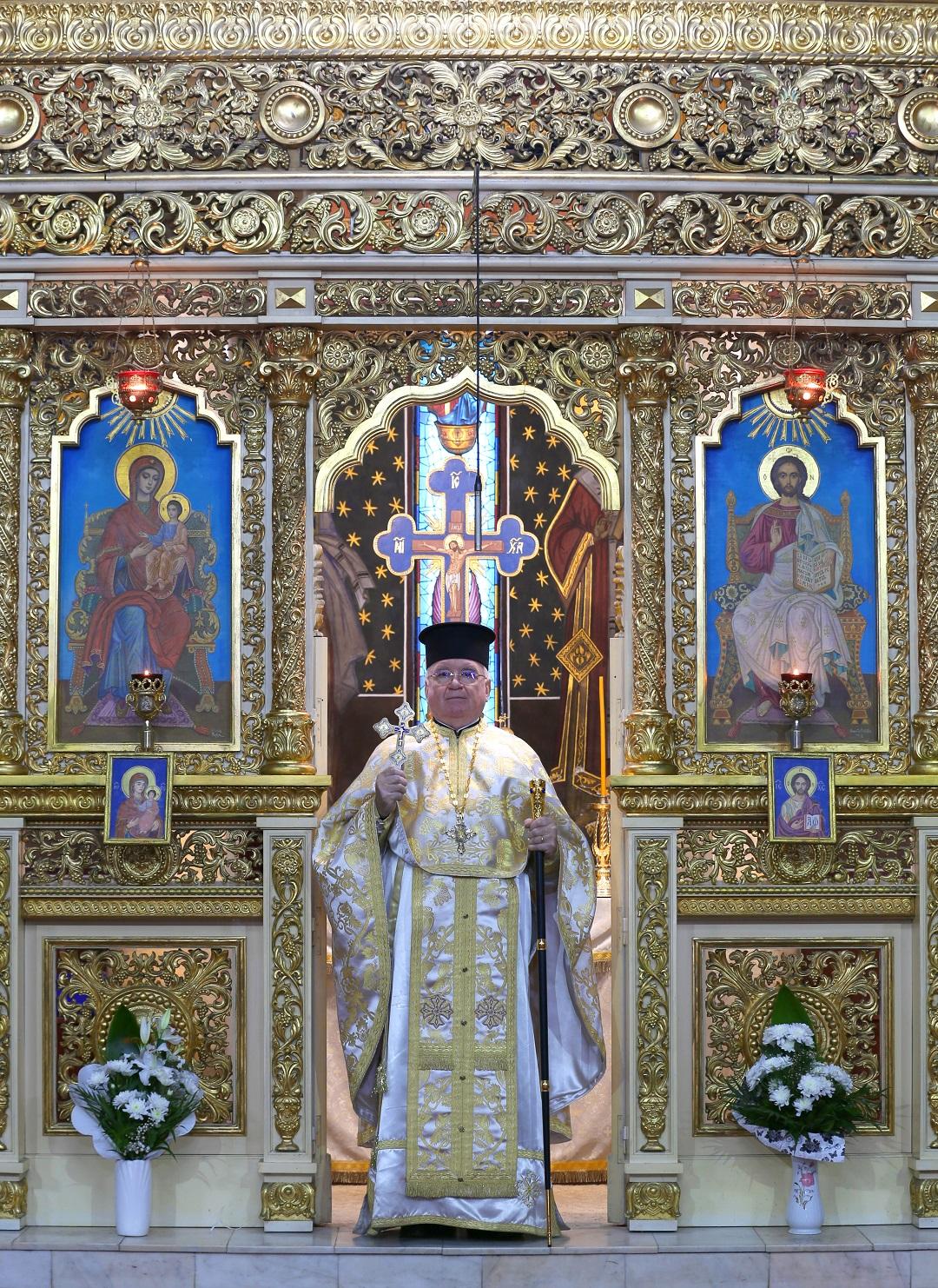 39 de ani de slujire a Părintelui Gheorghe Nemeș la Biserica Albastră